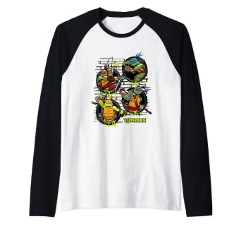 Amazon.com: TMNT Ninja Turtles Sewer All Characters Camiseta ...