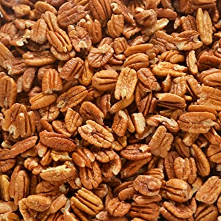 Just harvested Unsprayed Raw Organic Practice 12 oz Certified Pesticide-Free Fresh Texas Native Pecan Halves-Fresh Direct ...
