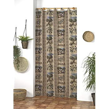 Martina Home Jabali Cortina Trabillas ALPUJARRA, Unico, 140x260 cm: Amazon.es: Hogar