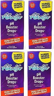 Alkalife Alkaline PH Booster Drops, 1.25 OZ (4 pack)