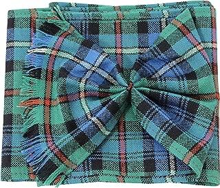 BBI Scottish 100% Wool Tartan Ladies Mini Sash with Rosette - Robertson Hunting ANC