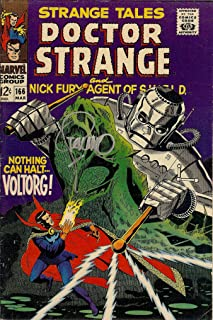 Autograph Strange Tales #166 VF Signed by Jim Steranko (Strange Tales Doctor Strange and Nick Fury, Agent of SHIELD)