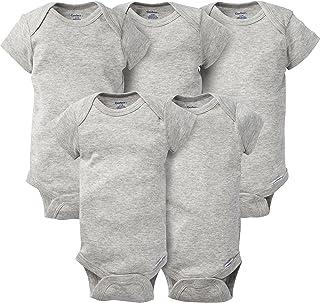 Baby 5-Pack Solid Onesies Bodysuits