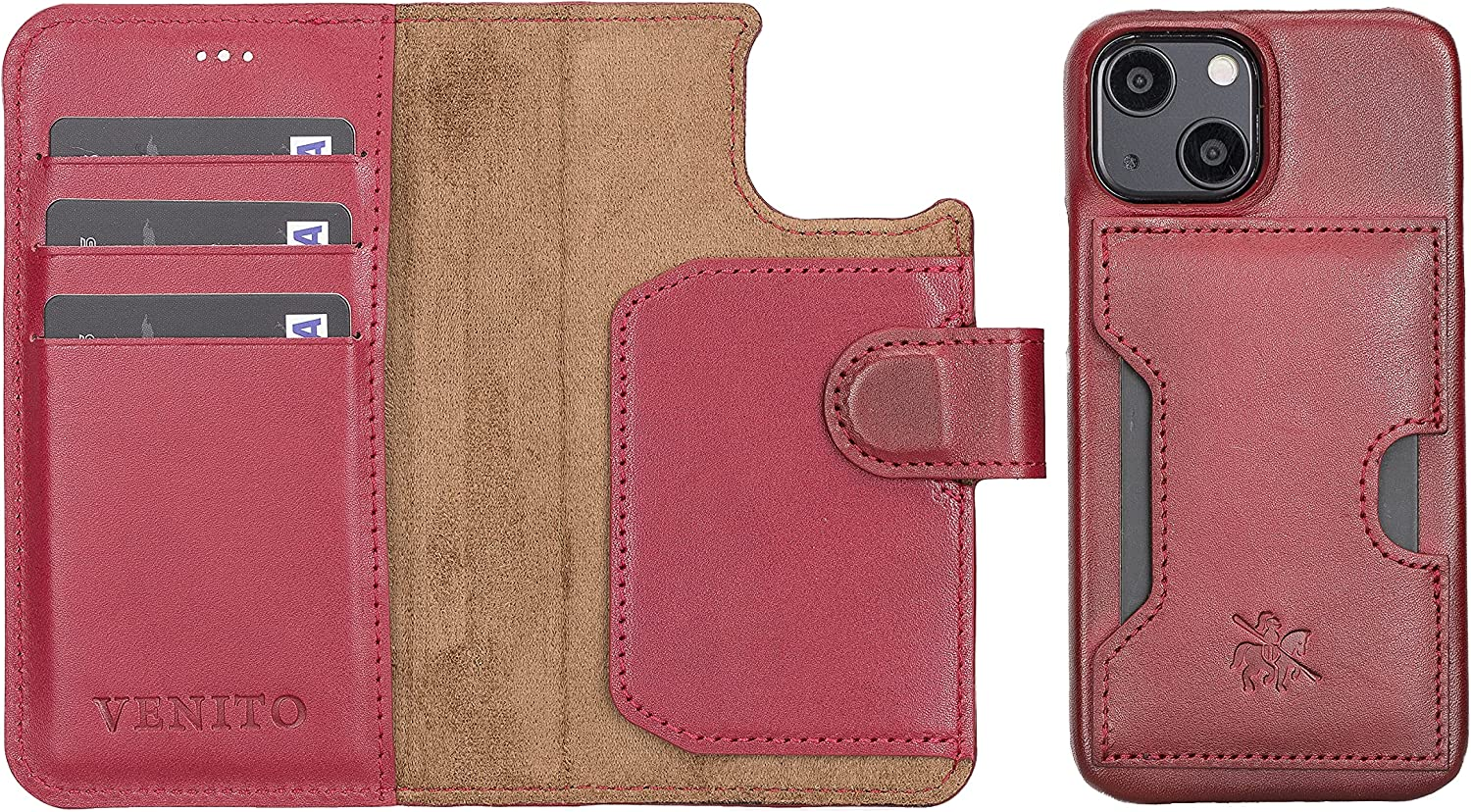 Venito Florence Leather Wallet Phone with Case iPhone Max Max 45% OFF 41% OFF Compatible