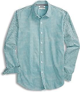 Goodthreads Men's Standard-Fit Long-Sleeve Gingham Plaid Poplin Shirt