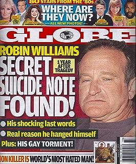 Robin Williams l 80 Stars From the '80s l Walter Palmer (Lion Killer) - August 17, 2015 Globe