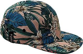 5 Panel Hat for Men Women Flat Brim Baseball Cap Urban Street Camper Hats (F1)