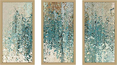 "Picture Perfect International Mark Lawrence Romans 8 38 Max Framed Plexiglass Art Set of 3 Wall-Decor, 17.5"" W x 33.5"" H x..."