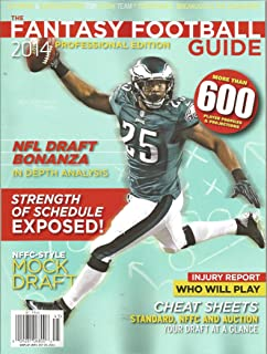 The Fantasy Football Guide 2014 (Professional Edition)