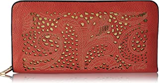 Lino Perros Women Wallet (Orange)(LWPR00315)