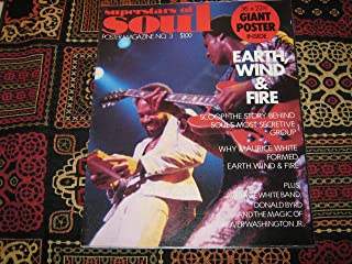 Superstars of Soul Poster Magazine (Earth , Wind & Fire , 36