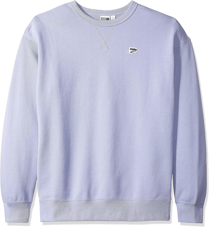 PUMA Mens Downtown Crewneck Sweatshirt Sweatshirt