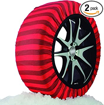 ISSE Textile Snow Chains, Classic, Size 54: image