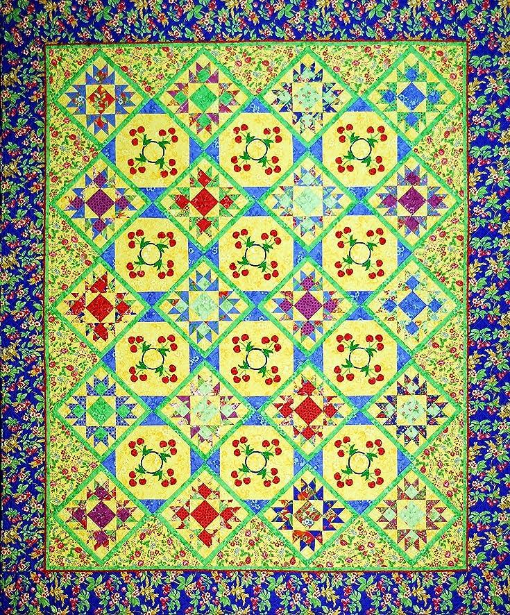 Happy Stash Quilts Summer Cherries Quilt Pattern