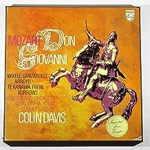 Mozart: Don Giovanni / Colin Davis, Chorus and Orchestra Royal Opera House, Covent Garden