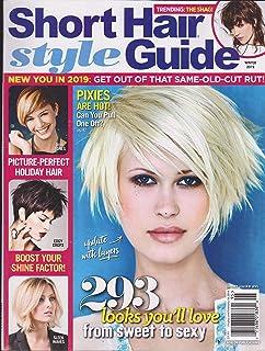 Short Hair Style Guide Magazine Winter 2019