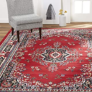 Best red asian rug Reviews