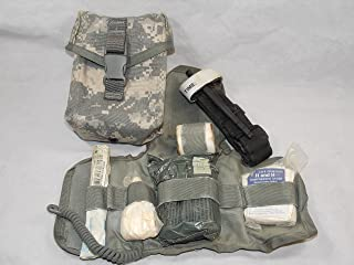 US ARMY IFAK ACU DIGITAL WITH SUPPLIES MOLLE IMPROVED FIRST AID KIT
