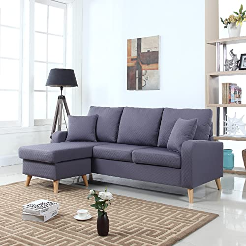 Apartment Size Sectional Sofa Set Couch With Chaise Canada ...