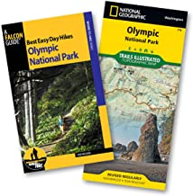 Best Easy Day Hiking Guide and Trail Map Bundle: Olympic National Park (Best Easy Day Hikes Series)