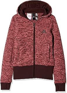adidas Girls' ID Warm CV Hooded Sweatshirt