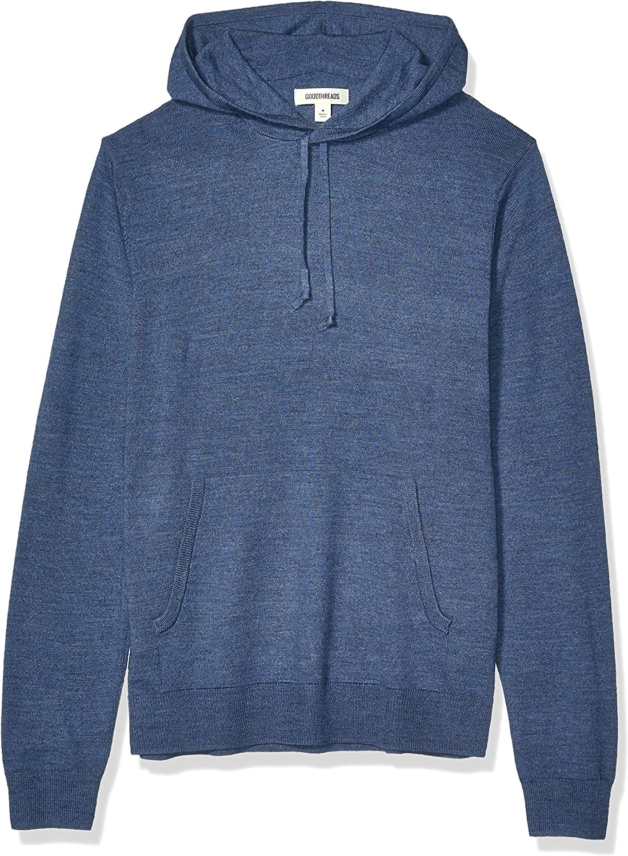 Goodthreads Men's Lightweight Acrylic Pullover Hoodie Sweater