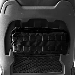 Bartact 2018+ Jeep Wrangler JL and JLU Rubicon MOLLE Pouch for Front Seats (Red)