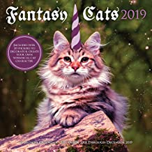 Fantasy Cats 2019: 16-Month Calendar - September 2018 through December 2019