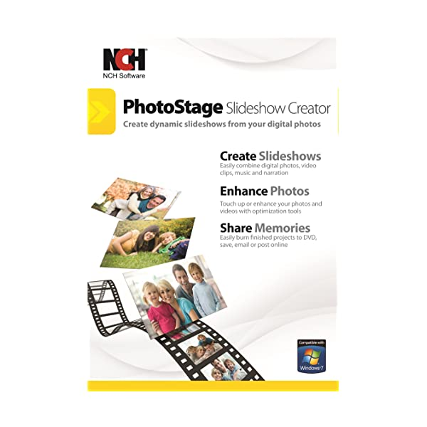 PhotoStage Slideshow Software – Share Pictures and Videos to Music or Narration...