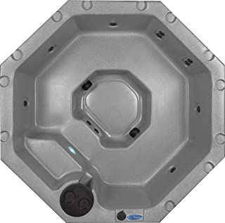 Essential Hot Tubs 11 Jets Integrity Rotationally Molded Hot Tub, Grey