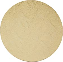 "RedMan Wooden Round Cakeboard, Gold, 7"", Pack of 5, (61365)"