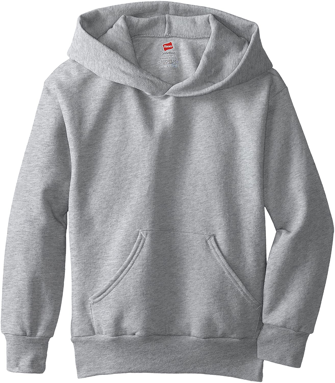 Hanes Boy's Eco Smart Fleece Pullover Hood: Clothing