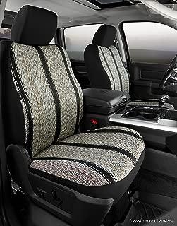 Fia TR47-34 BLACK Custom Fit Front Seat Cover Bucket Seats - Saddle Blanket, (Black)