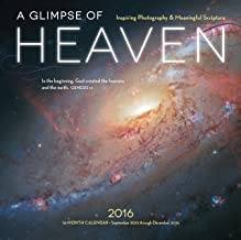 A Glimpse of Heaven 2016: Biblical Words of Inspiration and Images from the Hubble Telescope