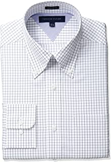 Men's Regular Fit Tattersall Dress Shirt