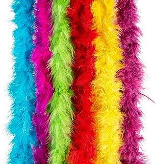 Boas | Dazzling Toys Mini Maraboou Feather Boas Costume Dress up Party 12 Pack