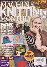 Machine Knitting Monthly Magazine September 2017