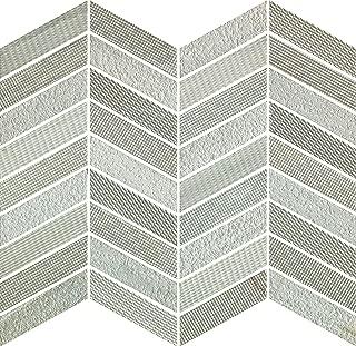 Cadence (Concerto) Greige (Beige) 1X3 Chevron Marble Mosaic Tile, 11 pc/ct, 36 lb/ct, 9.89 sf/ct