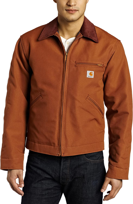 Carhartt Mens Duck Detroit Jacket
