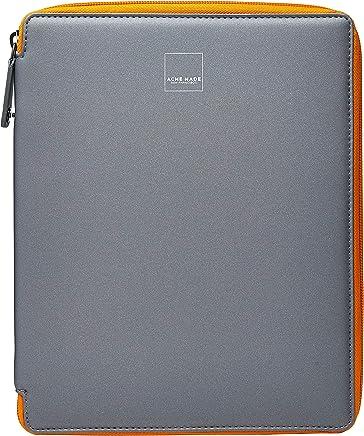 Estojo de Proteção iPad, ACME MADE, Capa Protetora para Tablet, Cinza e Laranja