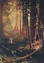Albert Bierstadt: Giant Redwood Trees of California. Fine Art Print/Poster (59.4cm x 42cm)
