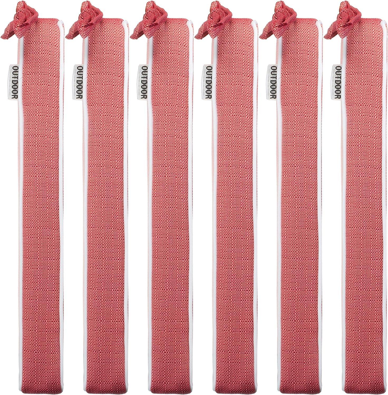 strukturierte Leinenoptik- Schmutz- und Wasserabweisend mit Befestigungsb/ändern 40 x 40 x 4 cm 2er Vorteilspack Mint Brandsseller Outdoor Garten Sitzkissen Auflagen Kissen mit Paspel