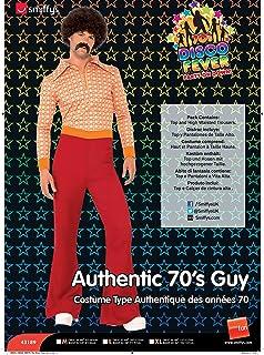 Smiffys Men's Authentic 70's Guy Costume