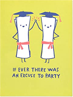 American Greetings Funny Graduation Card (Excuse to Party)