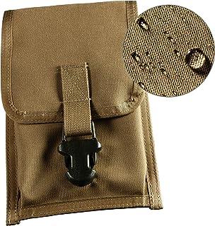 "Rite in the Rain Weatherproof CORDURA Fabric Notebook Pouch, 5 3/4"" x 9"", Wasit-Clip Pouch, Tan Cover (No. C540F)"