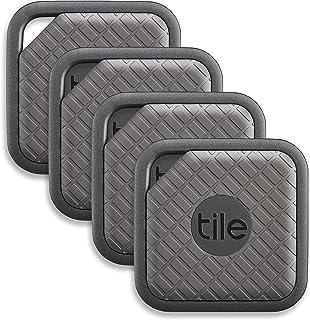 Tile Sport - Buscador de llaves, Buscador de teléfonos, Buscador de cualquier cosa, Grafito - Paquete de 4