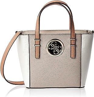 Guess Womens Tote Bag, Natural Multi - NG718677