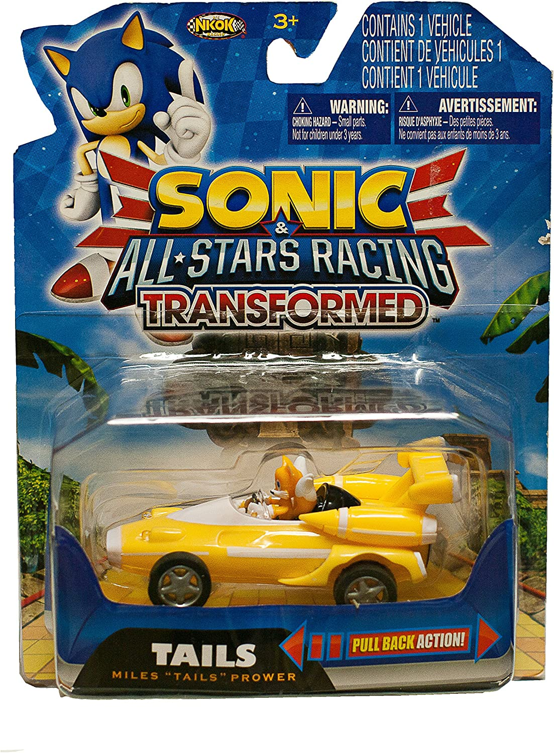 Sonic the Hedgehog and Sega All Stars Racing Transformed  Miles Tails Prower by NKOK