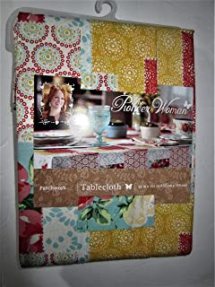 Pioneer Woman Tablecloth Patchwork 60 x 102 Vintage Floral
