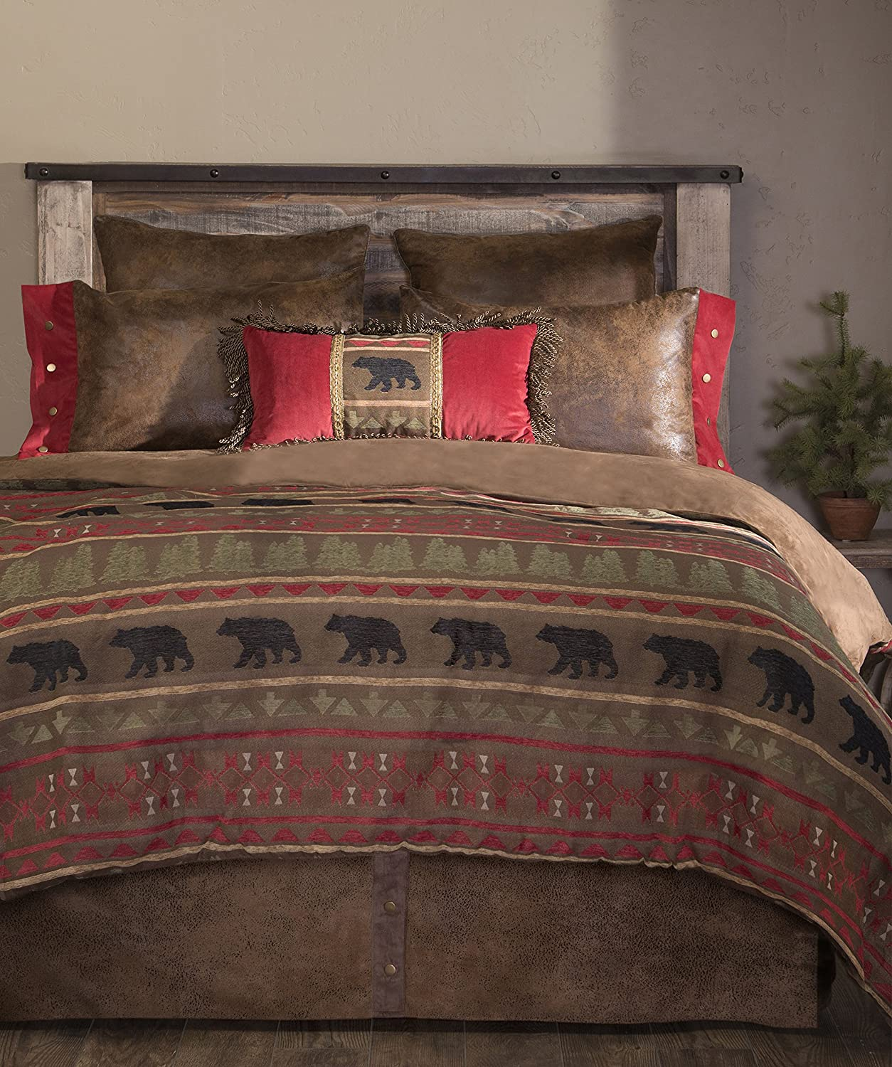 Carstens Inc Columbus Mall Our shop OFFers the best service King Bear Country Bedding Comforter 5 Set Piece